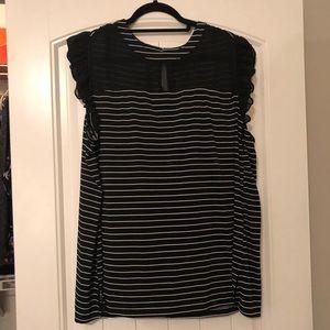 Worthington Striped Blouse Size 3X